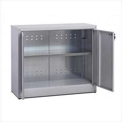 Mobili metallici armadi metallici da esterno zincoplastificati armadio basso in metallo - Armadi in ferro da esterno ...
