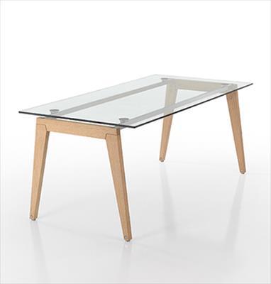 Tavoli in vetro e altri materiali linea beppe - Tavoli in vetro e legno ...