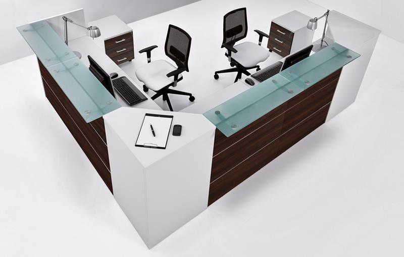 Arredamento Ufficio Offerte : Reception ufficio linea area in offerta chitarpi