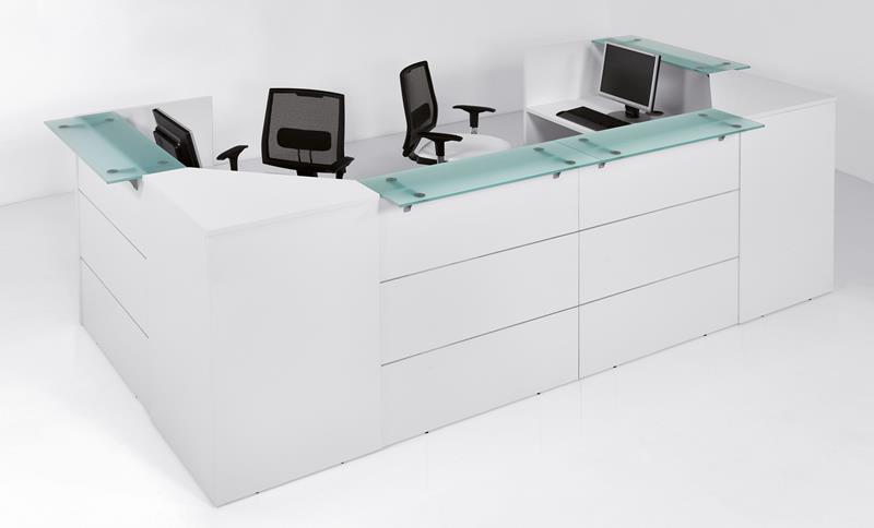 Reception Ufficio Bianco : Reception ufficio linea area in offerta chitarpi