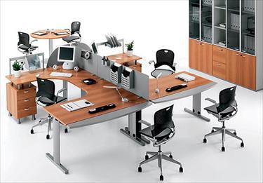 Mobili operativi linea quicker for Divisori per scrivanie ufficio