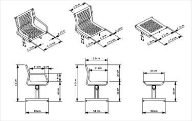 Sale da attesa linea sedute in metallo su trave for Sedute di design
