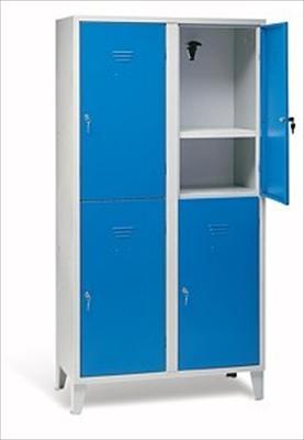 Arredi scolastici linea armadietti casellari - Ikea mobile metallo ...