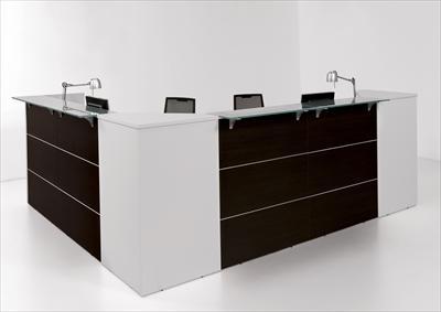 Reception ufficio linea area in offerta for Bancone reception ufficio